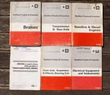 Bedford.1973.Truck and coach.Repair manuals x 5